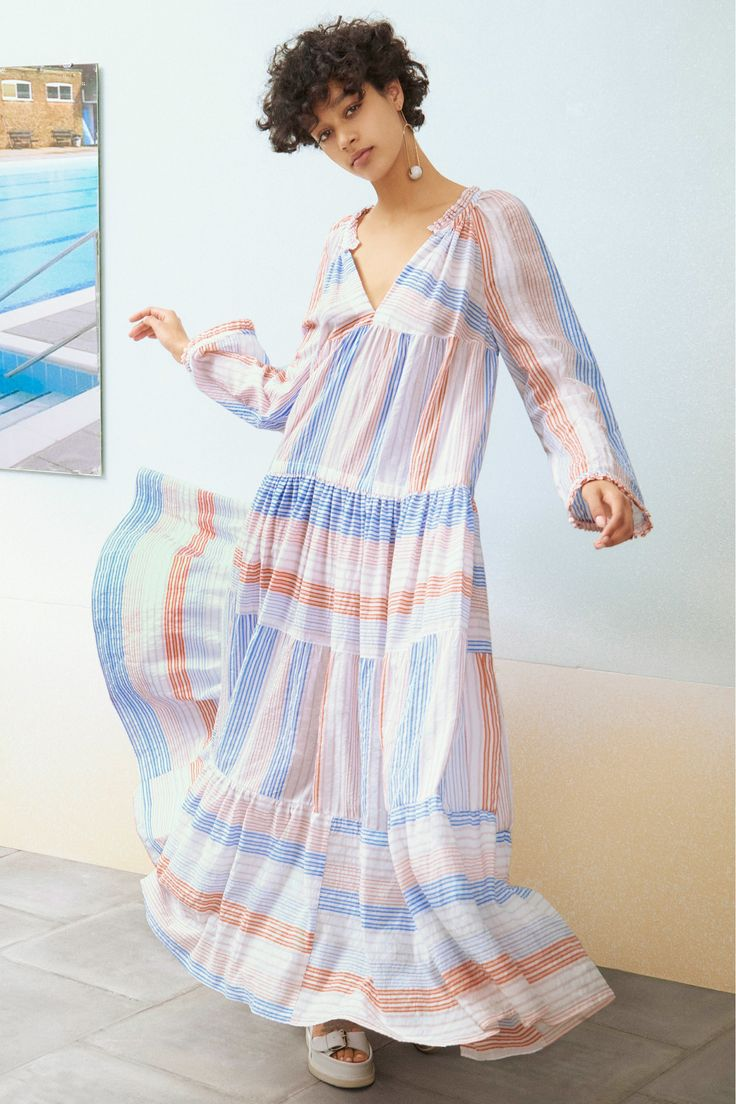 Stella McCartney Resort 2017 Collection Photos - Vogue: This lookbook effectively captures the lightness of the collection.