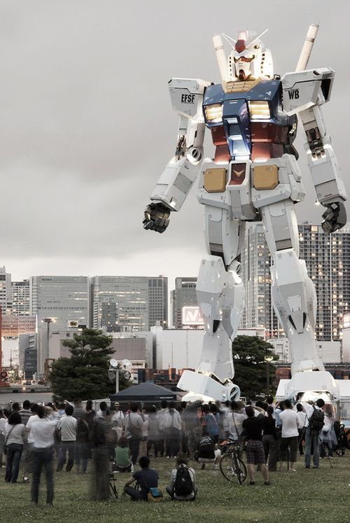 実物大ガンダム Life size Gundam
