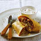 Burrito met chorizo, bonen en paprika - recept - okoko recepten