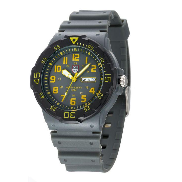 $7.34 (Buy here: https://alitems.com/g/1e8d114494ebda23ff8b16525dc3e8/?i=5&ulp=https%3A%2F%2Fwww.aliexpress.com%2Fitem%2FXINEW-Brand-New-Men-Sport-Watches-Army-Calendar-Date-Military-Resin-Silicone-Wrist-Watch-30m-Waterproof%2F32695010458.html ) XINEW Brand New Men Sport Watches Army Calendar Date Military Resin Silicone Wrist Watch 30m Waterproof Analog Quartz Watch for just $7.34