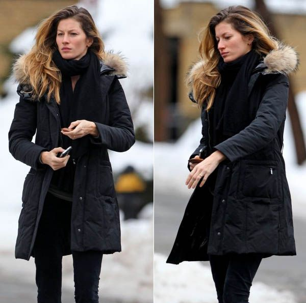 womens long puffer coat outfits - Google Search