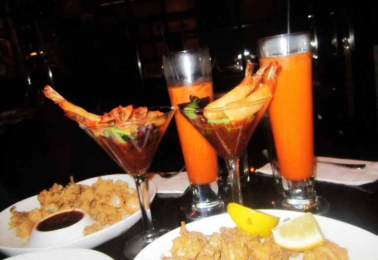 #fried #calamari margarita #shrimp & #thai iced tea! yummy