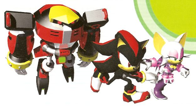 Team dark us manual from the official artwork set for #SonicHeroes on PS2, Gamecube, XBOX and PC. #SonictheHedgehog. #Sonic. http://sonicscene.net/sonic-heroes