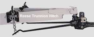 image of reese trunnion bar style weight distribution hitch