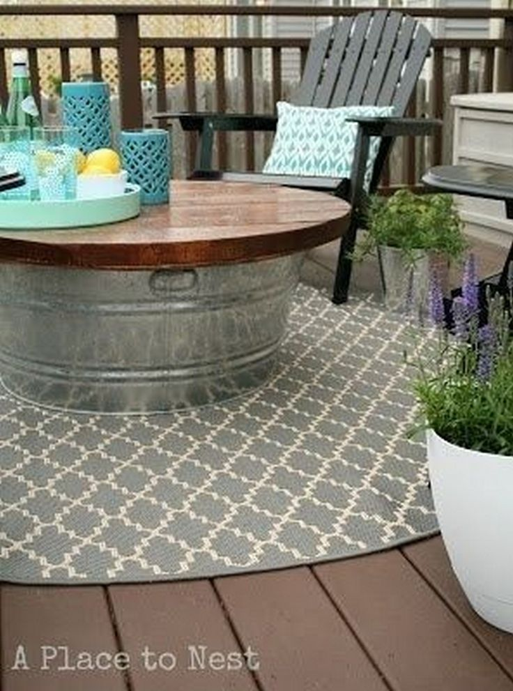 nice 99 Deck Decorating Ideas: Pergola, Lights and Cement Planters http://www.99architecture.com/2017/02/21/99-deck-decorating-ideas-pergola-lights-cement-planters/