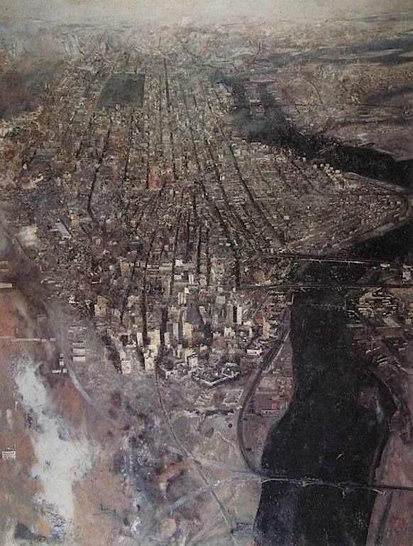 Antonio López García - View of New York