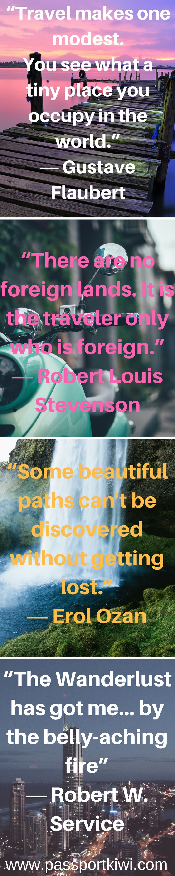 Four of my favourite travel quotes!