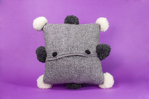 Free Shipping 9 by 8 Pillow and Toy two in one. by detcraft