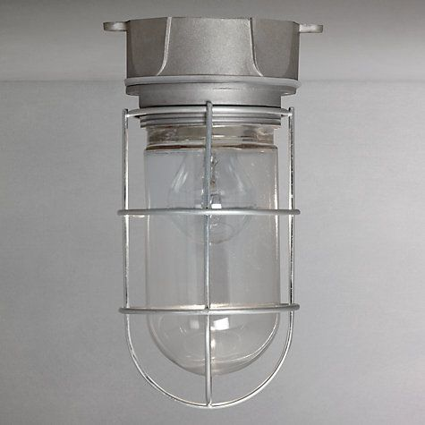 Buy John Lewis Traditional Deck Light Online at johnlewis.com ip 44, 24cm high, £40