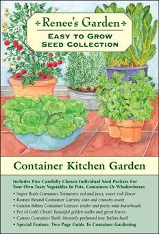 Reneeu0027s Garden Seeds  Easy To Grow From Seed Collections For Beginner  Vegetable Gardenerss