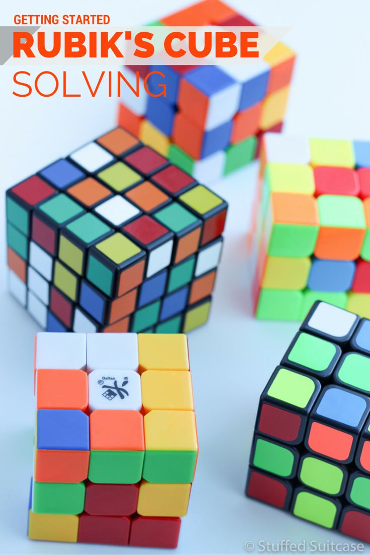 How And Why To Get Started With Solving The Rubiks Cube