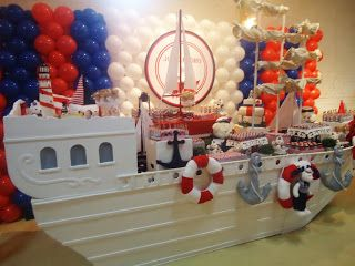 Pri Paixão: Festa ursinho marinheiro
