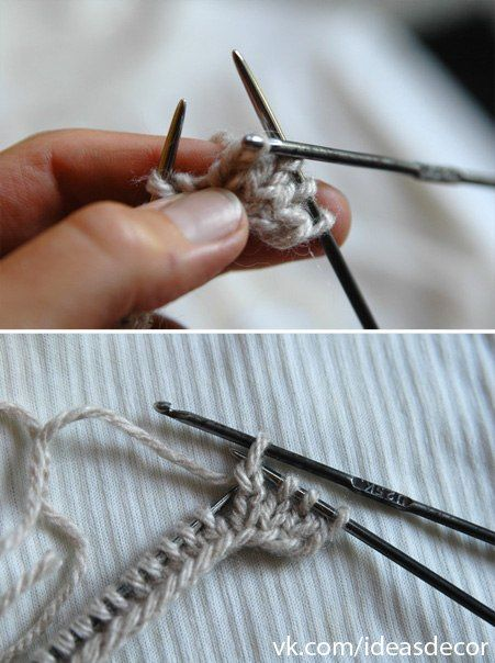 How to Knit Hedgehog Mittens - DIY (2)