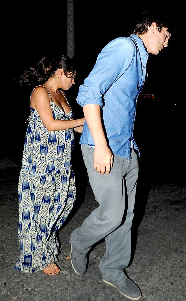 Pregnant Mila Kunis Enjoys Date Night With Ashton Kutcher as Actress Gets Ready to Pop?See the Pic!