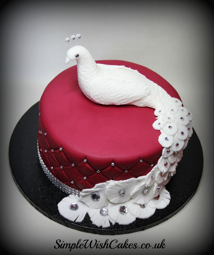 Daphne Made Her Own Birthday Cake Too: 125 Best PEACOCK CAKES Images On Pinterest