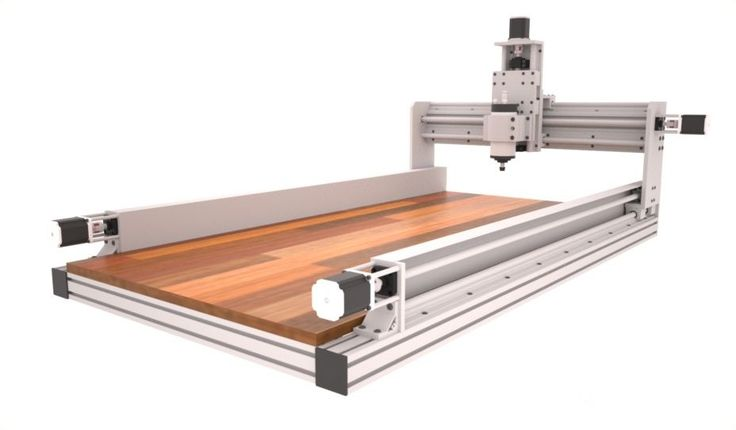 ID2CNC Router Plans v.2.1. – Dual motor and ball screw on Y Axis. This is not a Kit, Plans Only . You will receive the detail plans which include list below. Plans Contents : – Machine explode views & part detail document (include 2ft x 4ft and 4ft x 2ft and 4ft x 4ft ). | eBay!