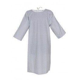 Chemise de malade avec tresses