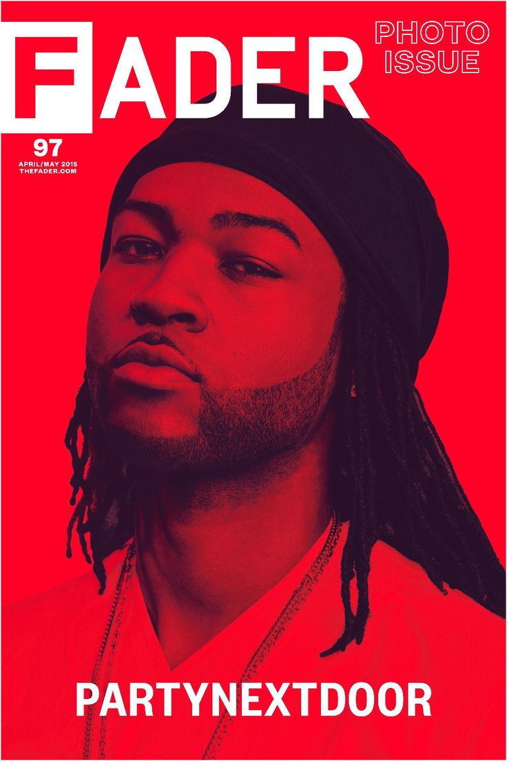 """Get this, 20"""" x 30"""", PARTYNEXTDOOR poster featuring the cover artwork of The FADER Issue 97. *Please note: order will be processed immediately upon receipt, we will not be able to cancel or change you"""