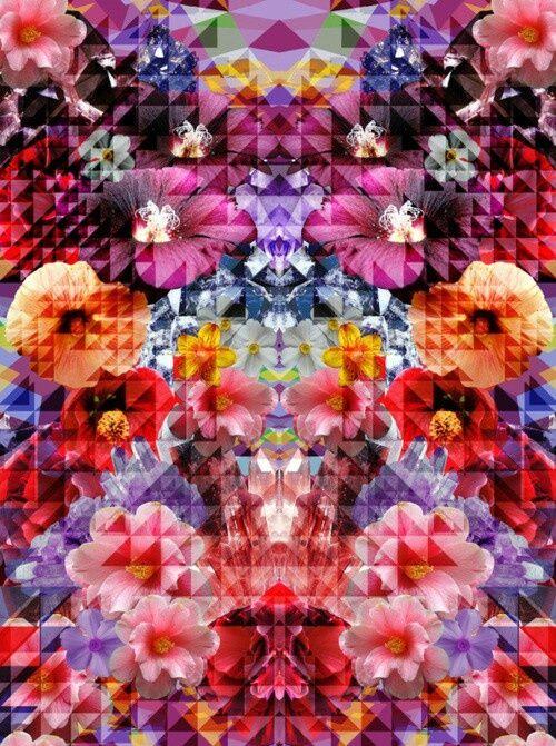 Floral Print #floral #print #colorful #beautiful