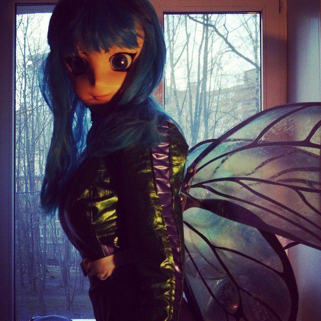 #Butterfly #wings #spacesuit #kigurumimask #kigurumi