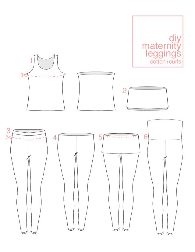 Every pregnant lady I know rely on leggings or rather, can't live without them! So, here is a VERY easy maternity leggings tutorial that only involved refashion a pair of non-maternity leggings and...