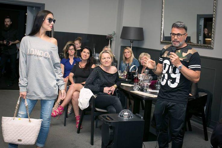 Komentovaná módní přehlídka. Osmany Laffita / fashionshow / Tiburón / Pardubice / móda / akce / svboutique