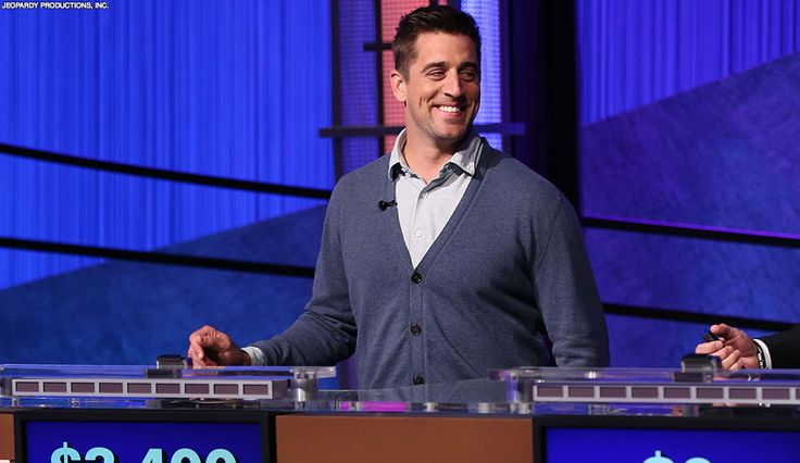Coming Up:  Aaron Rodgers' Jeopardy! appearance on May 12th