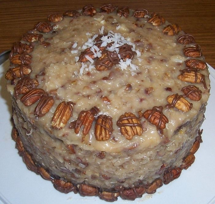 Excellent Recipe So Easy And Moist The Condensed Milk Keeps The Cake From Getting Dry I Use In 2020 German Chocolate Cake Recipe German Chocolate Cake Sweet Cooking