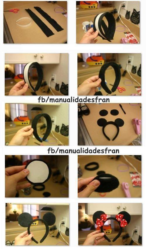 minnie mouse headband favours