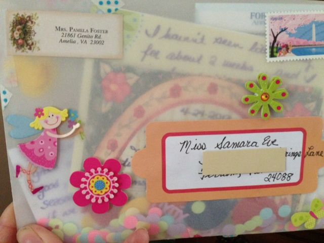 Hi folks...how many of you have sent off a tube letter? I hope you had fun with that project! Now, on to another...