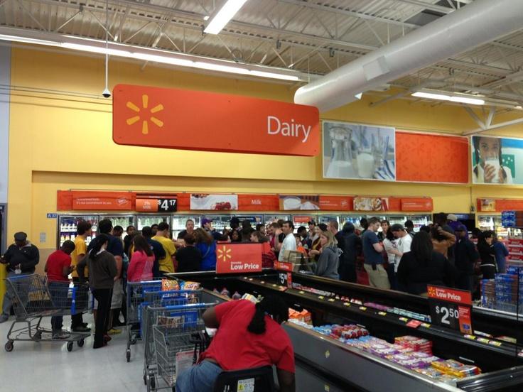 Big Black Friday Sale in the dairy section!!~via Reddit