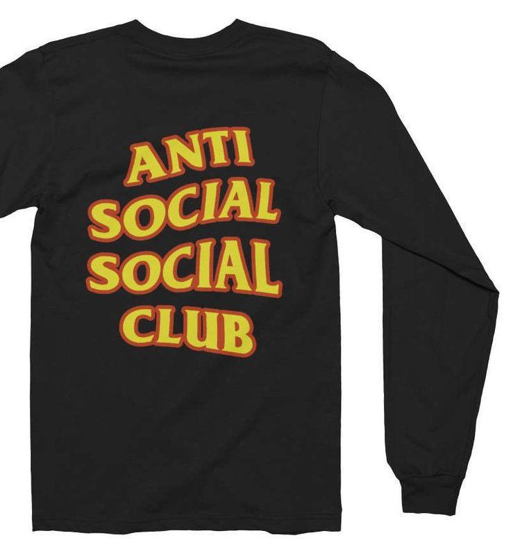 Anti Social Social Club T-shirt - Anti Social Social Club Sweatshirt - Kanye West Shirt - assc - yeezy Shirt - Yeezus Shirt - Yeezus by hoodiecaps on Etsy