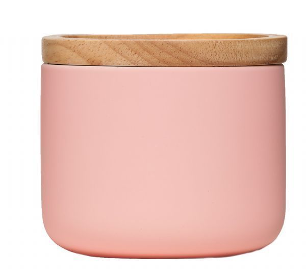 All That I Need - General Eclectic Small Canister - Matte Pink, $15.00 (http://www.allthatineed.com.au/products/general-eclectic-small-canister-matte-pink.html)