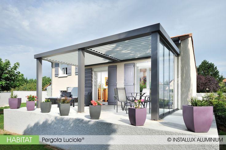15 pingles pergola lames orientables incontournables lames de terrasse terrasses sur le toit. Black Bedroom Furniture Sets. Home Design Ideas