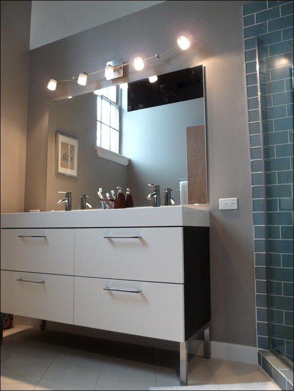 Track Lighting For Bathroom Vanity