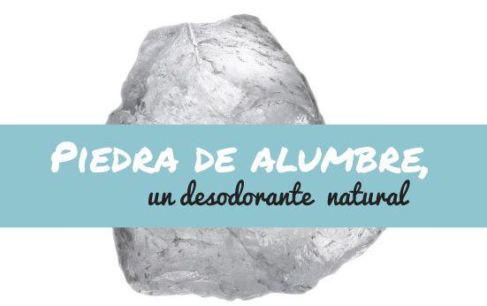 Piedra de Alumbre la naturaleza y sus beneficios, hoy lo pensaba!