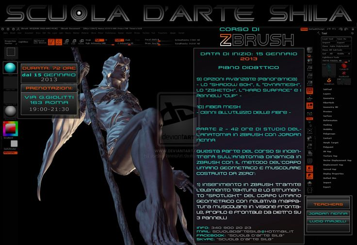 Zbrush 3D Digital Sculpting Course - page 8 by JordanNennaArt.deviantart.com on @deviantART