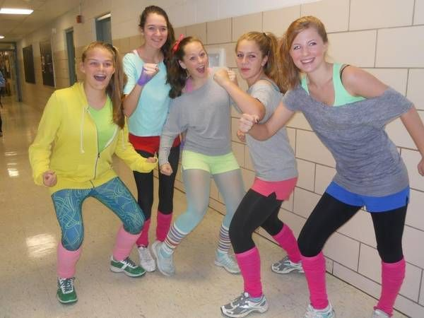 80s Workout Clothes Costumes