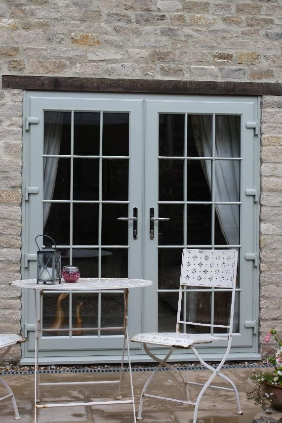 Double French Flood Doors fully glazed with Georgian bar. This classic style adds a sophisticated & Best 25+ Fully glazed doors ideas on Pinterest | Contemporary ... Pezcame.Com