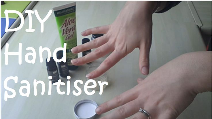 All Natural Aspirations: DIY Hand Sanitiser - Alcohol free and all natural