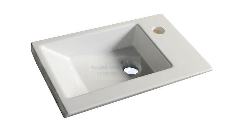 AQUALINE ZORAN nábytkové umyvadlo 45x27,5 cm ( 4045 )