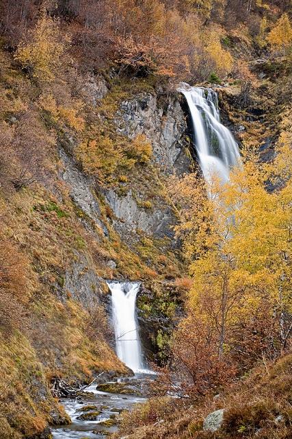 Waterfalls Vall d'Aran  Catalonia