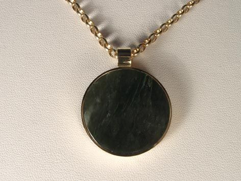 Pounamu the maori name for greenstone carries a very special significance for kiwis.  The colour and pattern in the greenstone is very similar to the colours in New Zealand's native bush.