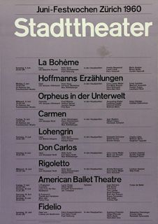 Design Context Blog.: Josef Muller-Brockman - stadttheater posters