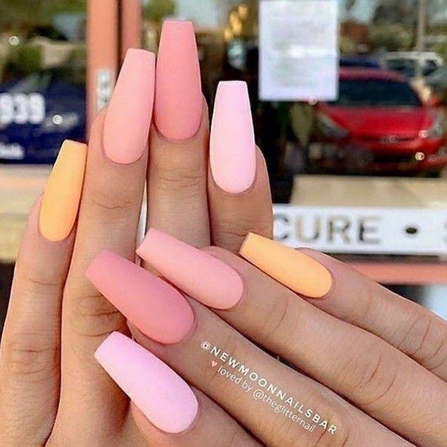 83+ most popular trendy summer nails art designs ideas to look charming 42 » el…