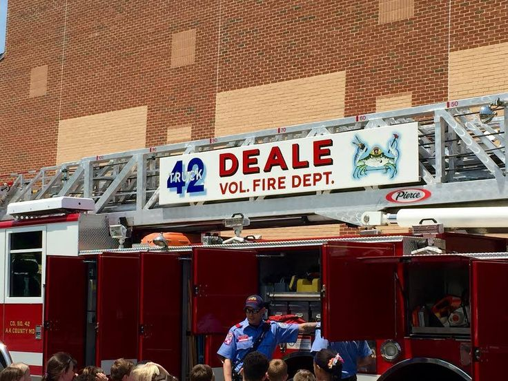 Deale md vol fire department careerday