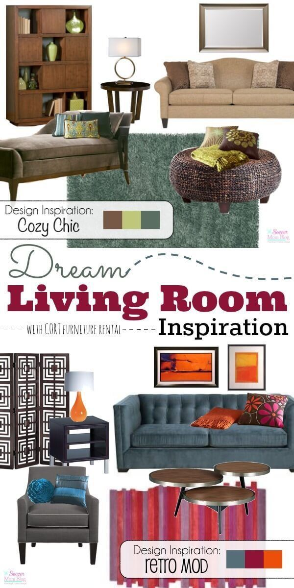 2 Dream Living Room Designs That Will Inspire You!
