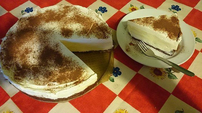 NapadyNavody.sk | Nepečená torta s vanilkovým krémom