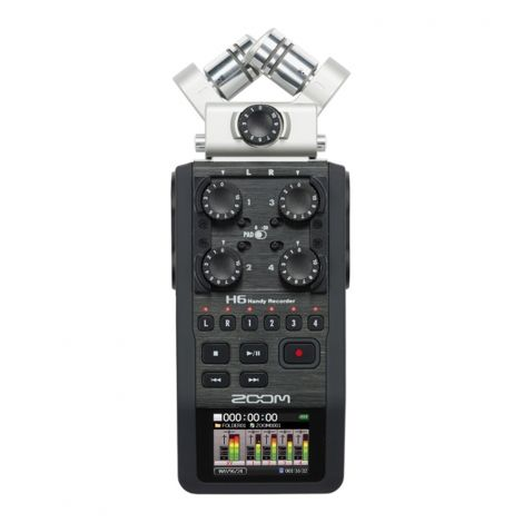 Zoom H6 Handy recorder - Here at Zoom we've been building innovative, great-sounding products for the past thirty years. But with the revolutionary H6—the most versatile portable recorder ever—the bar is raised further still.