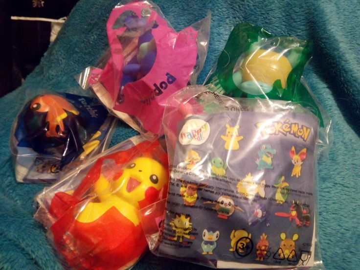 Pokémon toys are at McDonalds in the UK now! Each one looks to come with a promo card. Got a head start on my collection plus a couple of spares to trade with friends.